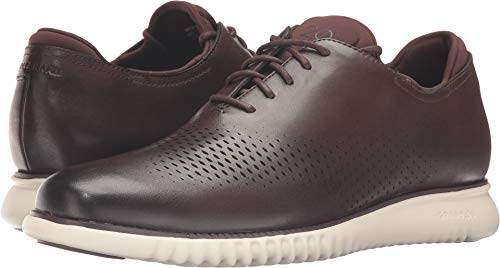 Cole Haan Men's 2.0 Grand Laser Wing Oxford Chestnut Leather/Ivory Oxford 7 D (M) by Cole Haan