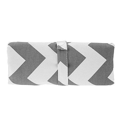 Silveroneuk - Cambiador Portátil de Pañales para Bebé Cambiador de pañales para bebé, portátil, plegable, impermeable, almohadilla de viaje gris Talla:talla ...