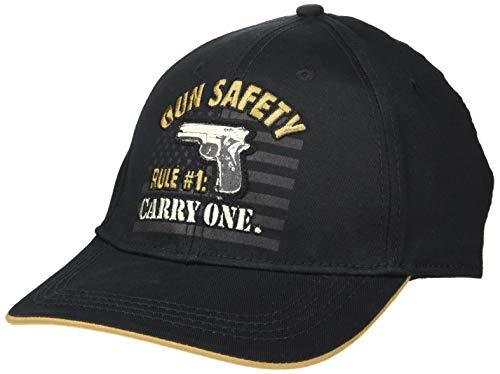 Baseball Humor Cap - Buck Wear Gun Safety Hat, Multi, One Size