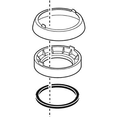 Delta RP52610 Leland Trim Ring, Base And Gasket,