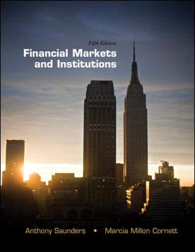Financial Markets and Institutions (The McGraw-Hill/Irwin...