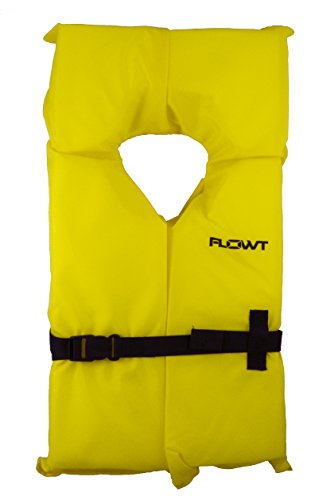 Flowt 40003-OS AK-1 Type II Life Jacket, Yellow, Adult Oversize ()