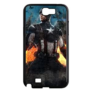 Captain America Samsung Note2 N7100 phone case cell phone cases&Gift Holiday&Christmas Gifts NVFL7N8824434