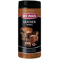 Weiman Leather Wipes 30-Ct.