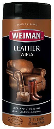 Weiman Leather Wipes Condition Couches
