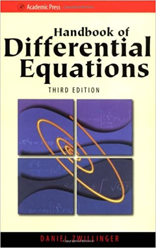 Handbook of Differential Equations: Daniel Zwillinger