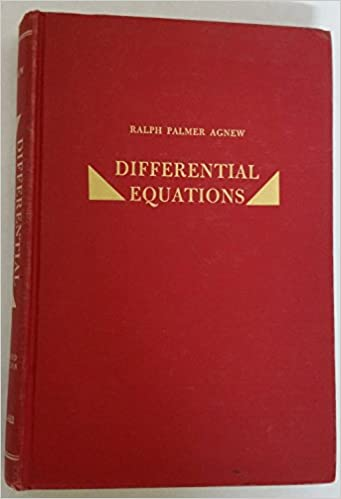 DIFFERENTIAL EQUATIONS AGNEW DOWNLOAD