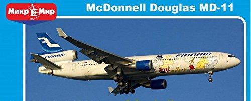AIRLINES EUROPA AIRCRAFT MCDONNELL DOUGLAS MD-11 FINNAIR 1/144 MICRO MIR 144-015