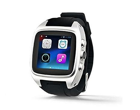 X01 Bluetooth Smart reloj teléfono 3 G WIFI GPS WCDMA Android SmartWatch resistente al agua reloj