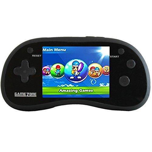 "Handheld Portable Digital Screen 220 Preloaded Games , 3"" Color Display BLACK"