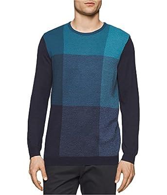 Calvin Klein Men's Merino Sweater Crew Neck,