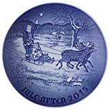 Bing & Grondahl 1902215 Christmas Plate 2015