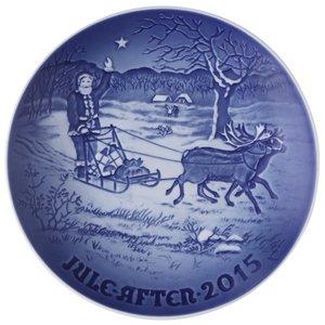 Bing & Grondahl 1902215 Christmas Plate 2015 by Bing & Grondahl