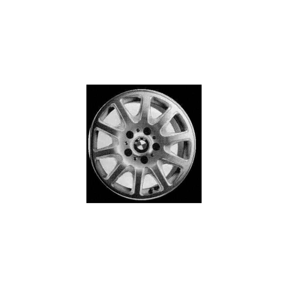 01 03 BMW 525I 525 i ALLOY WHEEL RIM 16 INCH, Diameter 16, Width 7 (10 SPOKE), 20mm offset Style #25, SILVER, 1 Piece Only, Remanufactured (2001 01 2002 02 2003 03) ALY59274U10