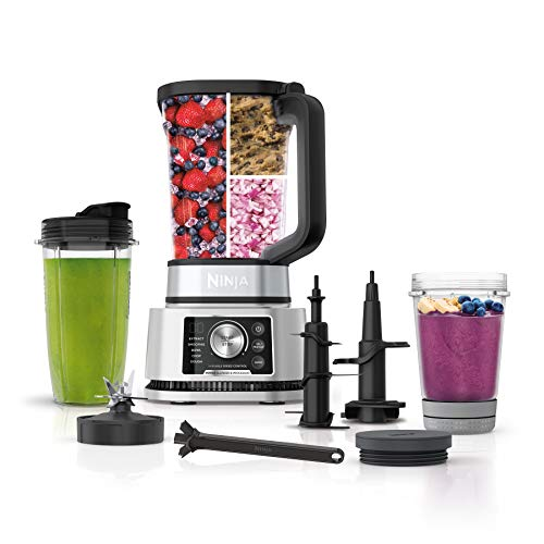 Ninja Foodi SS351 Power Blender & Processor System with Smoothie Bowl Maker and Nutrient Extractor*. 4in1 Blender + Food…