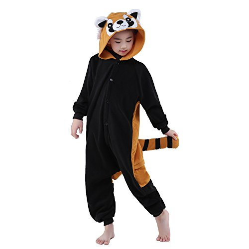 SWEETXIN Unisex Children Pyjamas Animals Cosplay Costumes (6-height 47-50