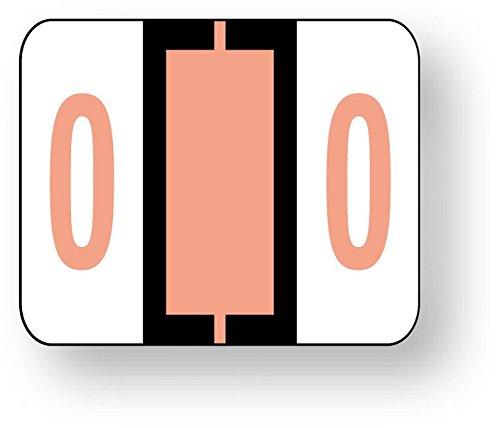 United Ad Label Numeric File Folder Label - Tab 1282 Compatible, 1-1/4