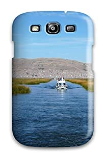 High-quality Durability Case For Galaxy S3(titicaca Lake )
