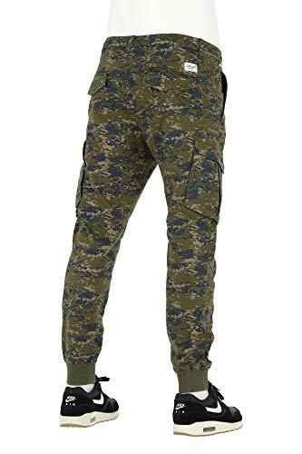 Reell Scale Olive Pantalon Reflex Camo Rib WZZ1qFB0a