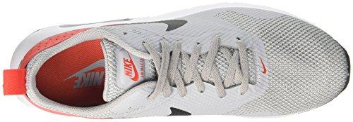 Nike Mens Air Max Tavas Scarpe Da Corsa Grigio Lupo / Nero-max Arancione