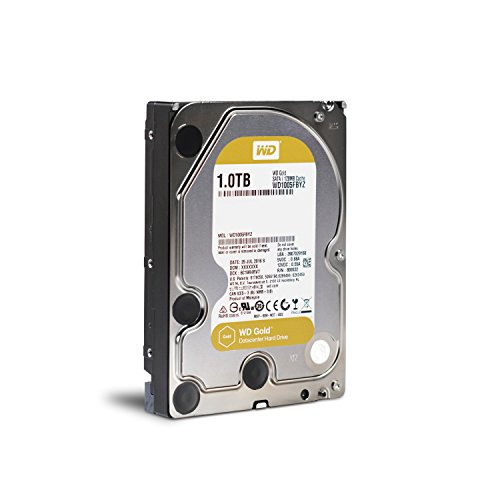 WD Gold 1TB Datacenter Hard Disk Drive - 7200 RPM Class SATA 6 Gb/s 128MB Cache 3.5 Inch - WD1005FBYZ