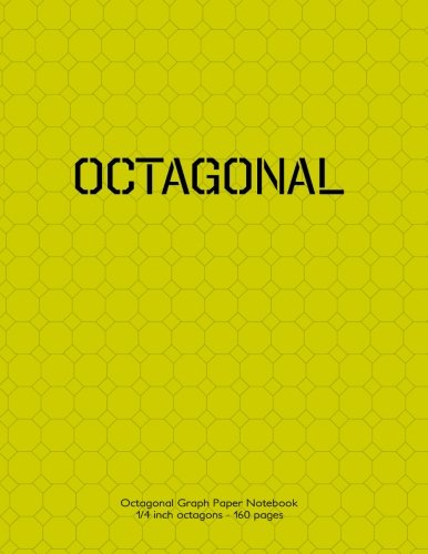 - Octagonal Graph Paper Notebook 1/4 inch octagons 160 pages: 8.5