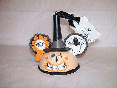 Disney / TIM Burton's the Nightmare Before Christmas Mayor Ear Hat Disney Ornament (Mayor Ornament Before Nightmare Christmas)