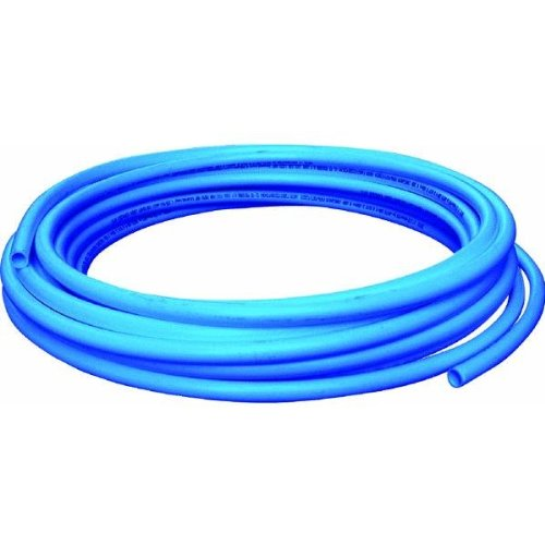 SharkBite U860B100 1/2-Inch PEX Tubing, 100 Feet, BLUE, for Residential and Commercial Potable Water Applications (Supplies Pex Tubing)