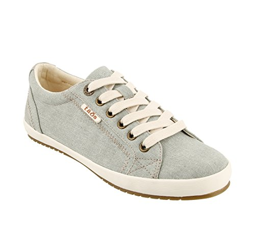 Taos Footwear Damen Star Fashion Sneaker Salbei waschen Leinwand