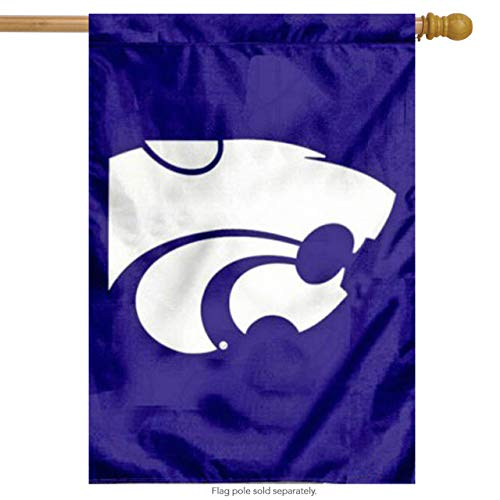 - Fan Essentials Kansas State Wildcats NCAA House Flag Collegiate 2 Sided 29
