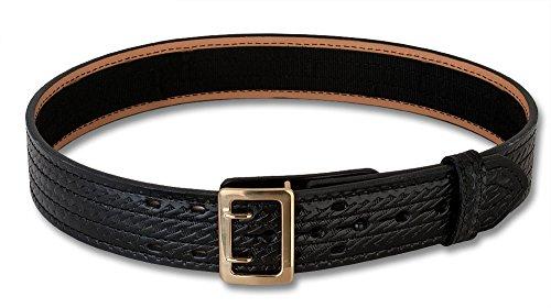G&G Basket Weave Duty Belt, Brass buckle (54)