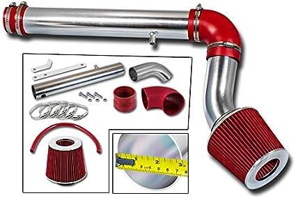 RED Filter For 05-09 Charger//Magnum 2.7L V6 Cold Air Intake Kit
