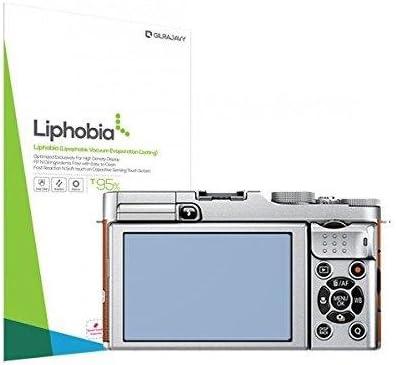 New New Gilrajavy Liphobia Fuji X-M1 Hi Clear Camera Screen Protector 2Pcs Anti-Fingerprint Guard Clean