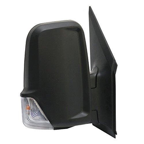LONGLING Brand New Passenger Right Side Mirror With Signal Light Fit Dodge Freightliner Mercedes Sprinter 2007-2014 ()