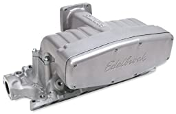 Edelbrock 7127 Performer Series RPM Plenum Manifold Cover EGR 1500-6500rpm Incl. Gasket Performer Series RPM Plenum Manifold Cover