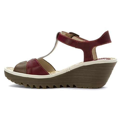 Magenta Yila630fly Sandales Fly London Compensées Woman 54wnIHq
