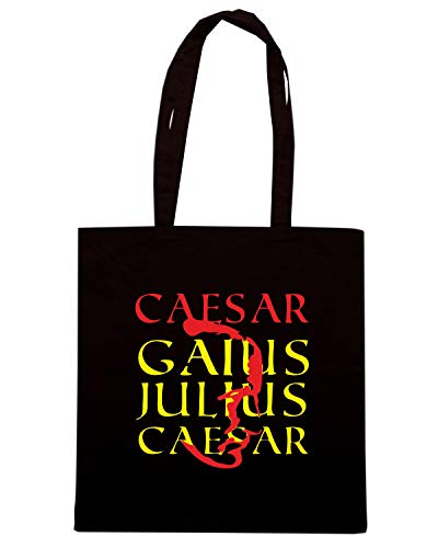 Speed Shirt Borsa Shopper Nera OLDENG00427 CAESAR GAIUS JULIUS
