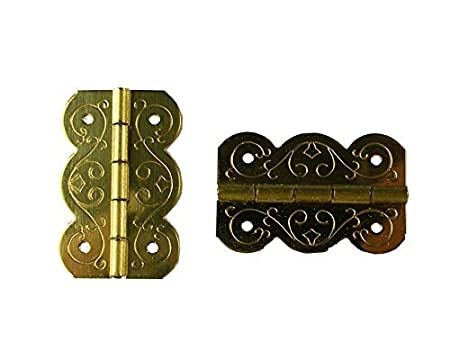 small box brass hinge 25mm x 1pr amazon co uk diy tools