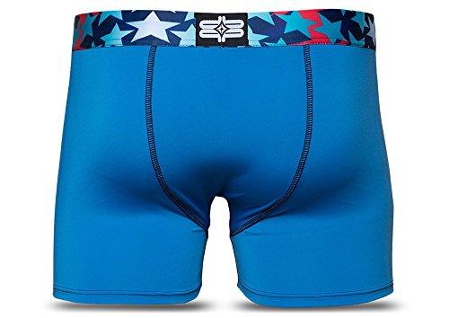 Pepp Underwear Herren Boxershort Blue Star