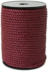 White 144 Yards 1//16-2mm Twisted Cord 8//2
