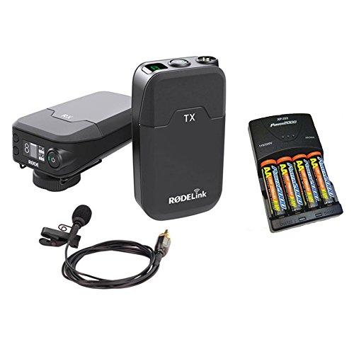 RodeリンクワイヤレスFilmmaker Kitとバッテリ充電器の電池を   B06Y4MHR5S