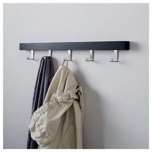 IKEA ASIA TJUSIG - Colgador para Puerta, Color Negro: Amazon ...