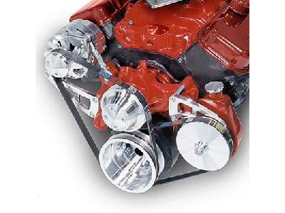 March Performance 23050 Serpentine Conversion Kit for Big Block Engine