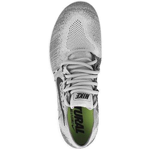 NIKE Men's Free RN Flyknit 2017 Running Shoe (14, Wolf Grey/Black-Anthracite)