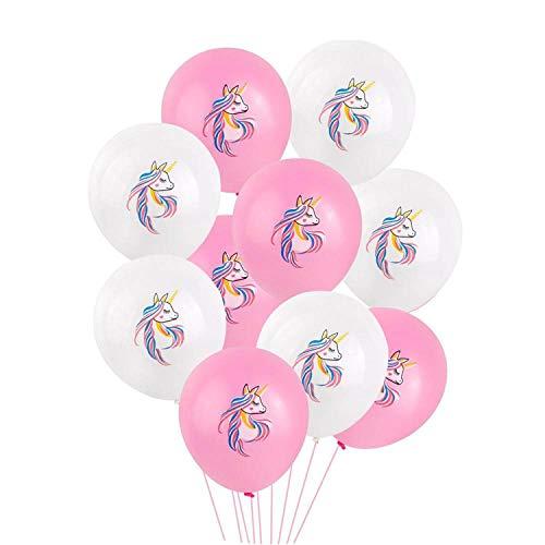Pink Latex Unicorn Baloon Unicorn Party Decoration Unicorn Kids Favors,19 -