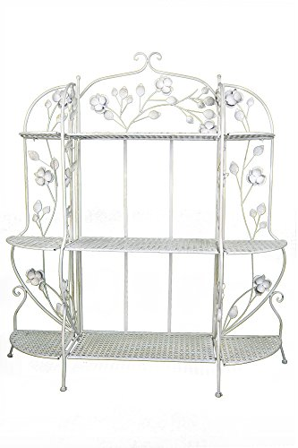 Heather Ann Creations W190944-AWHT Rosella Large Bakers Rack, Antique White by Heather Ann Creations (Image #2)