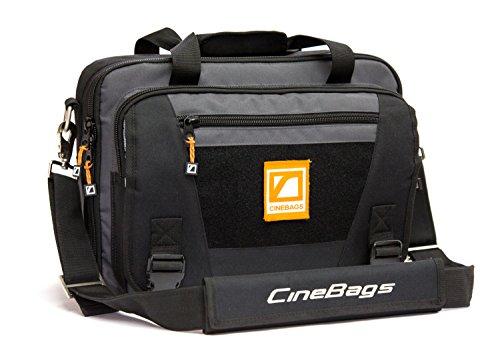 CineBags CB27 Lens Smuggler for DSLR Cameras and Lenses (Charcoal) by CineBags