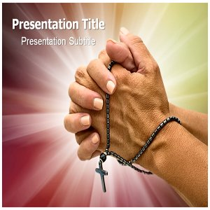Religious PowerPoint Template - Religious PowerPoint (PPT) Presentation - Slide Backgrounds on Religious