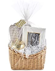 Hallmark Wrap Kit with Cellophane Bag, Filler, Cord and Gift Tag for Welcome Gifts, Easter Baskets, Weddings, Baby Showers and More