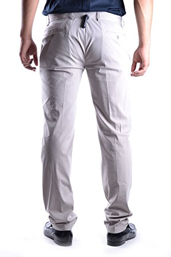 Daniele Alessandrini Homme MCBI086383O Gris Coton Pantalon